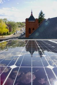 Federated Community Church in Flagstaff, AZ, has cut its power bill 96 percent with a new solar array on their historic building.