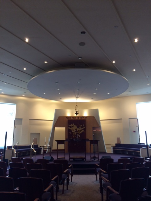 ES Temple Shalom sanctuary