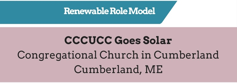 Renewable Role Model - 2016 Cool Congregations