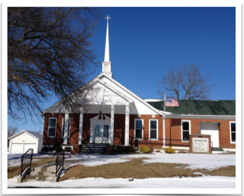 Salvisa Christian Church (Disciples of Christ), Salvisa, KY
