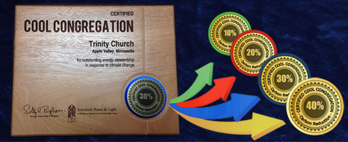 Certified Cool Congregations Plaques